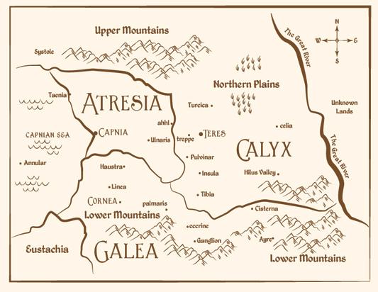 Teller's Tale Map